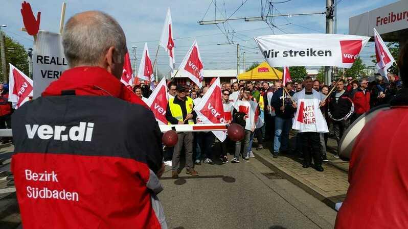 Streik, VAG, verdi, Bus, Bahn, Rente; Rente, , © baden.fm