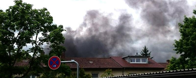 Rauch, Brand, © baden.fm-Hörerfoto