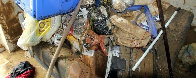 Hochwasser, Müll, Unrat, © baden.fm
