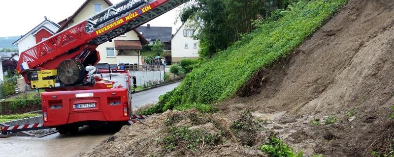 Feuerwehr, Heitersheim, Erdrutsch, © baden.fm