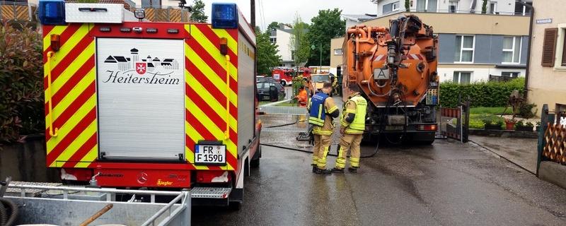 Feuerwehr, Heitersheim, Hochwasser, © baden.fm