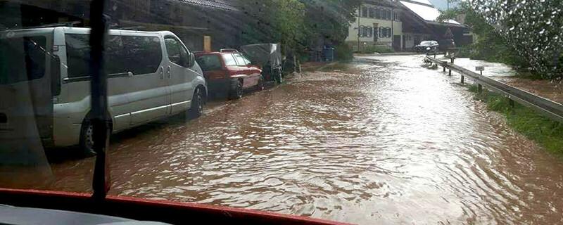 Hochwasser, Überflutung, © baden.fm-Hörerfoto