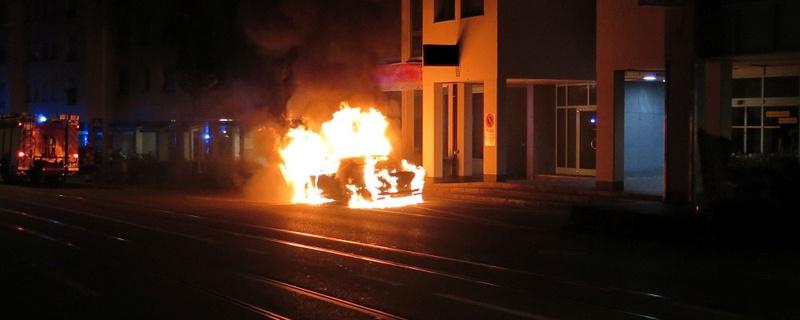 Feuer, Brand, Feuerwehr, Binningen, © Kantonspolizei Basel-Landschaft
