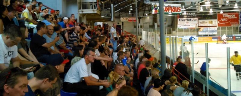 Fans, Eishockey, EHC Freiburg, Wölfe, © baden.fm