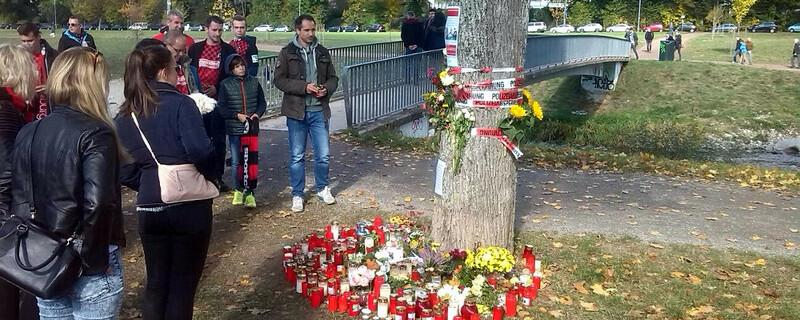 Trauer, Studentin, Dreisam, SC-Fans, © baden.fm