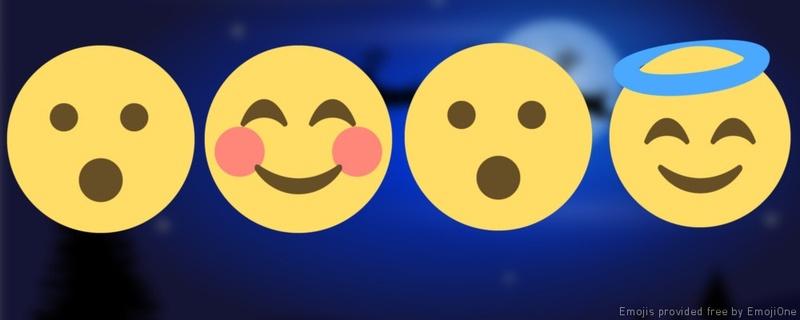 erkennen sie diese zehn weihnachtslieder in emoji form. Black Bedroom Furniture Sets. Home Design Ideas
