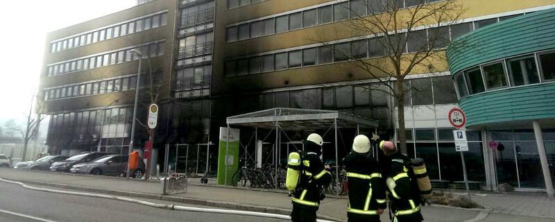 Feuerwehr, Brand, Solar Info Center, © baden.fm