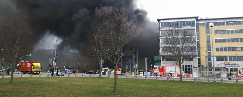 Feuerwehr, Rauch, Solar Info Center, © baden.fm-Hörerfoto