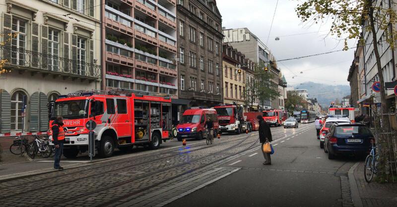 Feuerwehr, Amtsgericht, Staatsanwaltschaft, Freiburg, © baden.fm