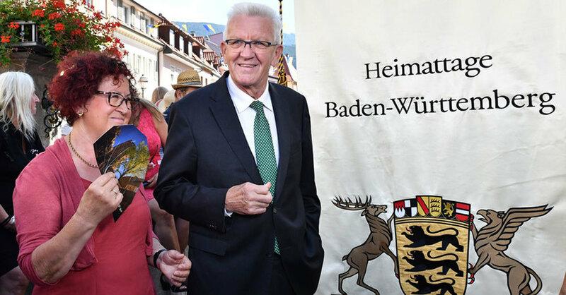 Heimattage, Waldkirch, © Achim Keller - dpa