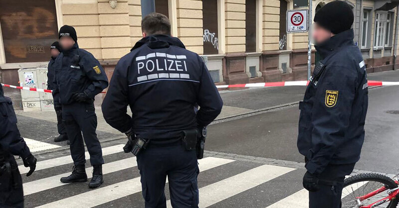Polizei, Feuerwehr, UB, Freiburg, © Hörerfoto