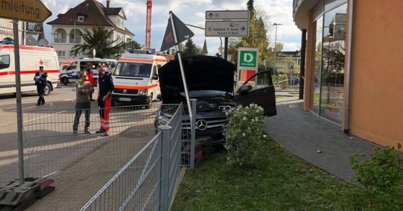 Unfall, Bad Krozingen, Familie, Fußgänger, © Feuerwehr Bad Krozingen