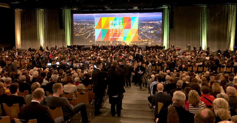 Neujahrsempfang, Freiburg, 2020, Sick Arena, © baden.fm