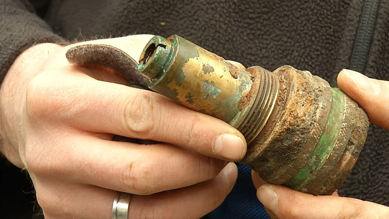 Der entschärfte Zünder der Fliegerbombe von Freiburg , © baden.fm