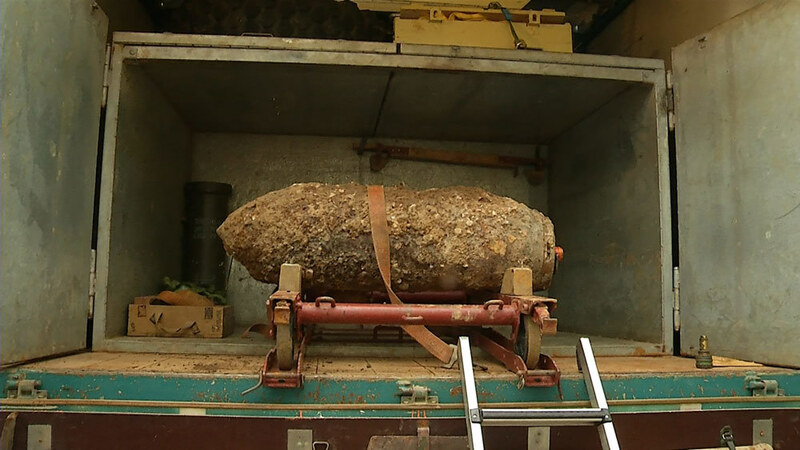 Die Fliegerbombe kann aus Freiburg abtransportiert werden, © baden.fm
