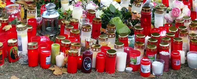Trauer, Kerzen, Dreisam, © baden.fm-Hörerfoto