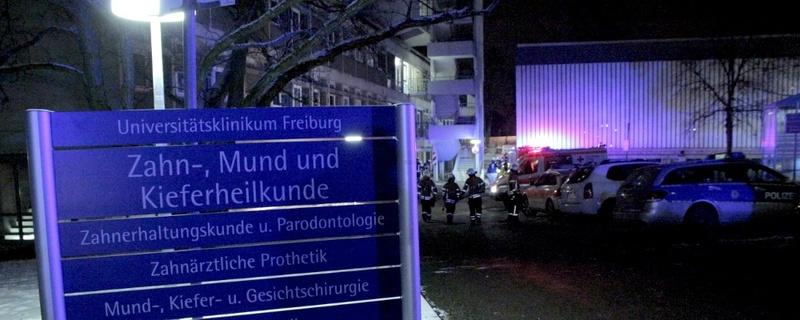Uniklinik Freiburg, Zahnklinik, Feuerwehr, © baden.fm