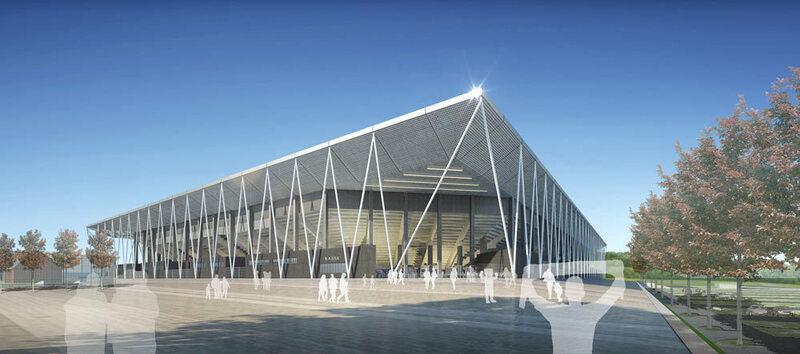 SC Stadion, neues Stadion, Wolfswinkel, SC Freiburg, Stadion, Bauplan, © HPP Architekten/WillMore