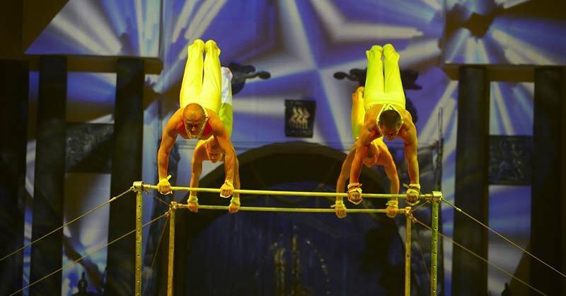 Artisten beim Freiburger Circolo präsentiert von baden.fm, © Circolo