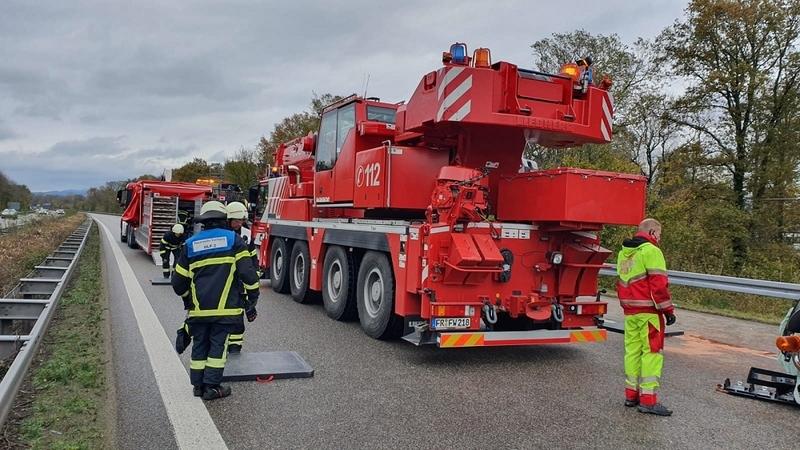 Unfall A5 Baden Baden